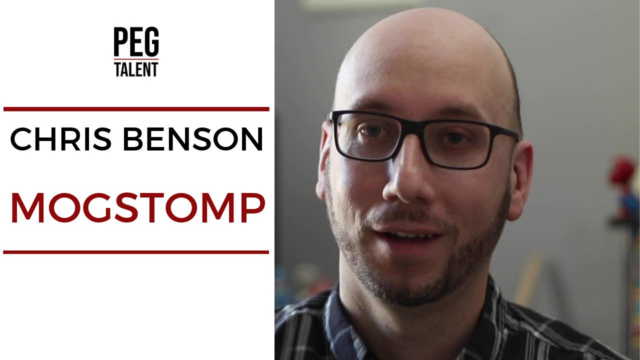 Peg Talent Thumbnail fro Chris Benson | Mogstomp